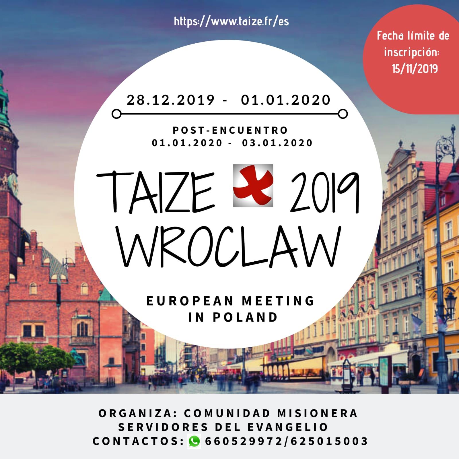 Encuentro Taize en Wroclaw