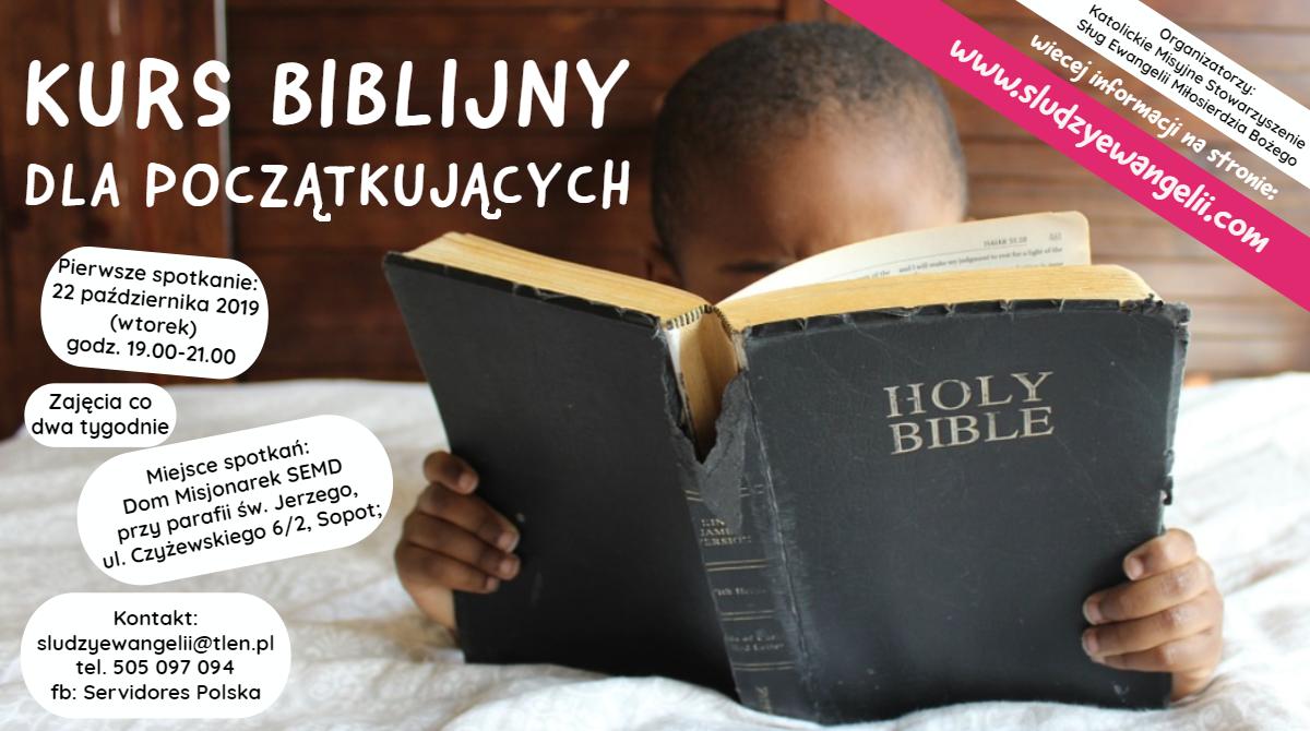 Kurs biblijny – od 22.10.2019