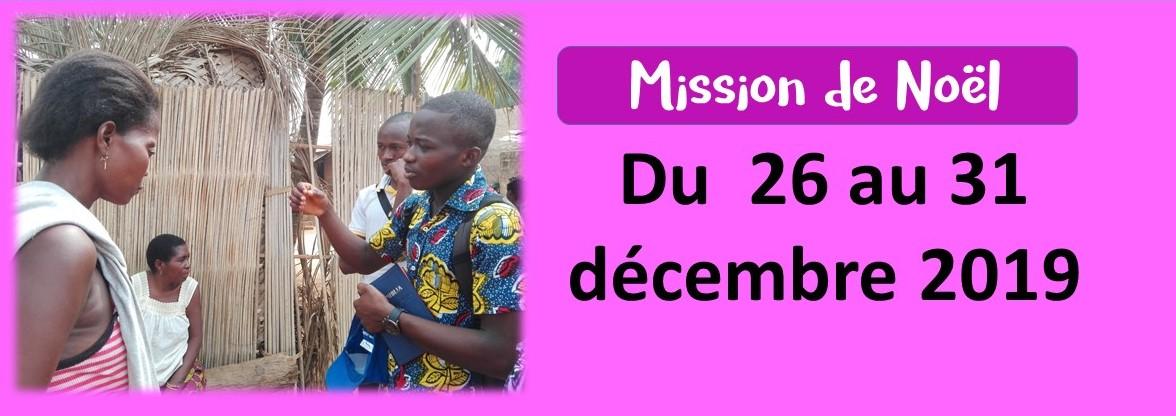 Mission de Noël 2019