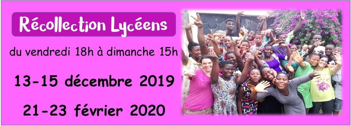 Récollection Lycéens