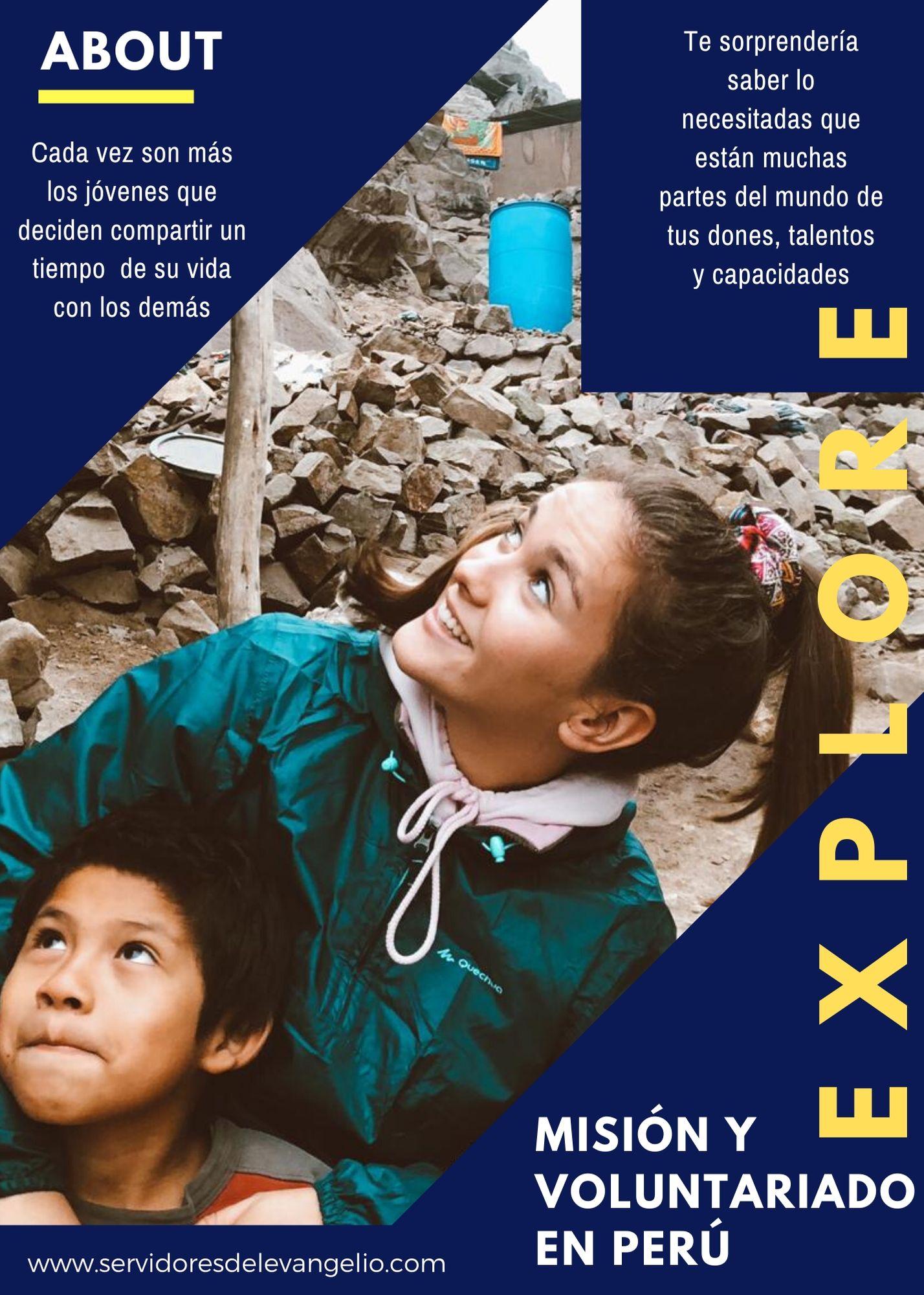 Misión y voluntariado en Perú