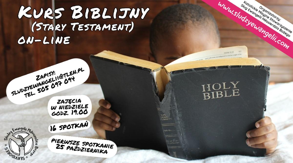 Kurs biblijny ONLINE – od 25.10.2020