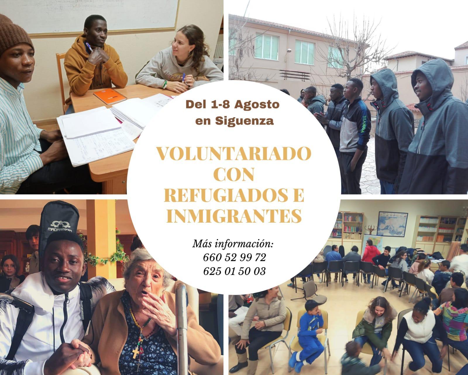 Voluntariado con refugiados inmigrantes en Sigüenza