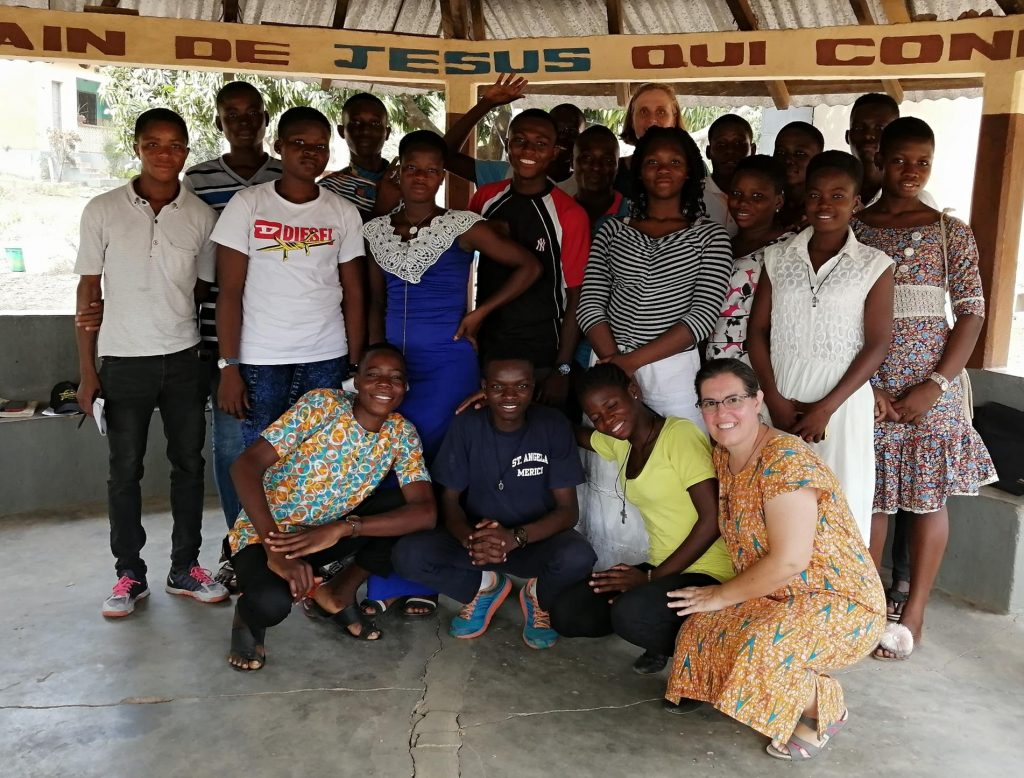 jovenes universitarios de Kara(Togo)