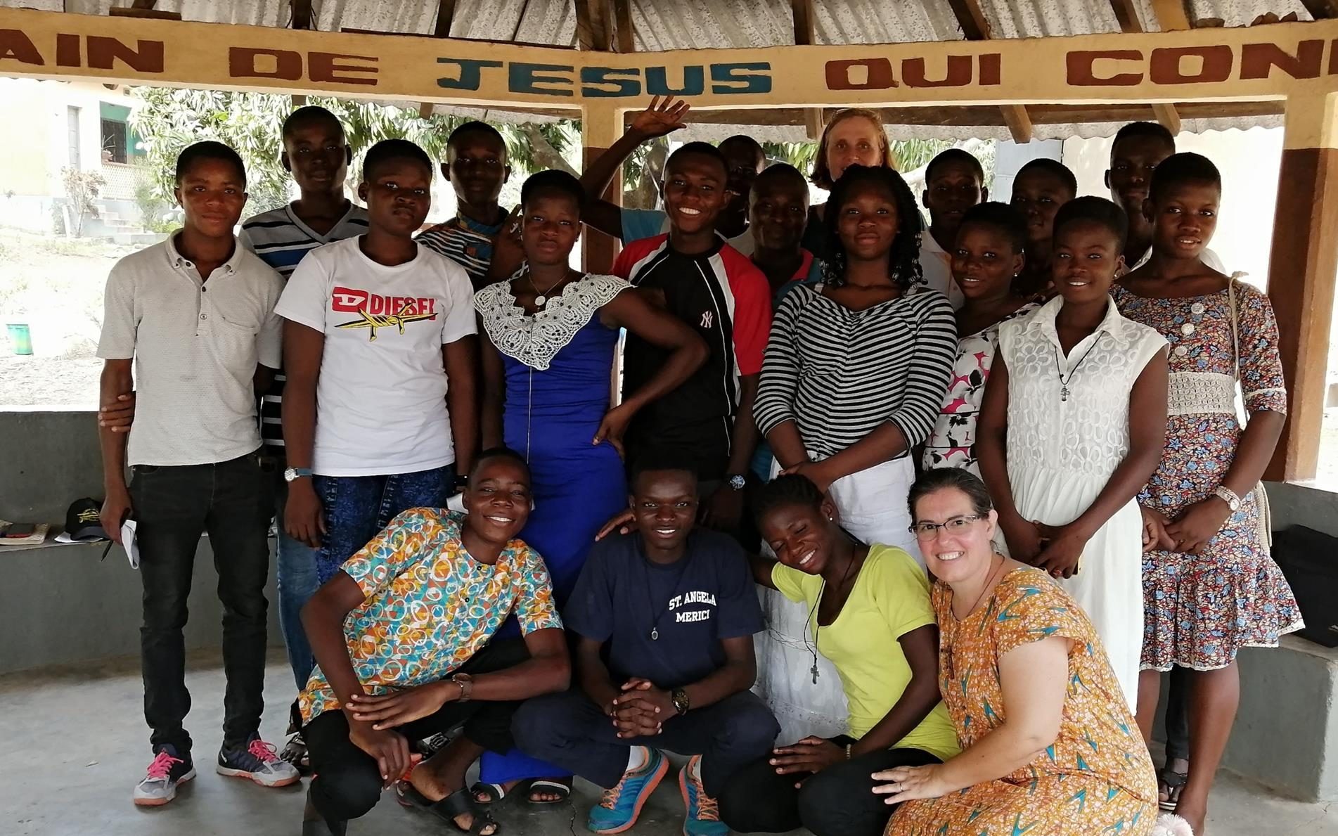 The students of Kara – a new missionary venture!