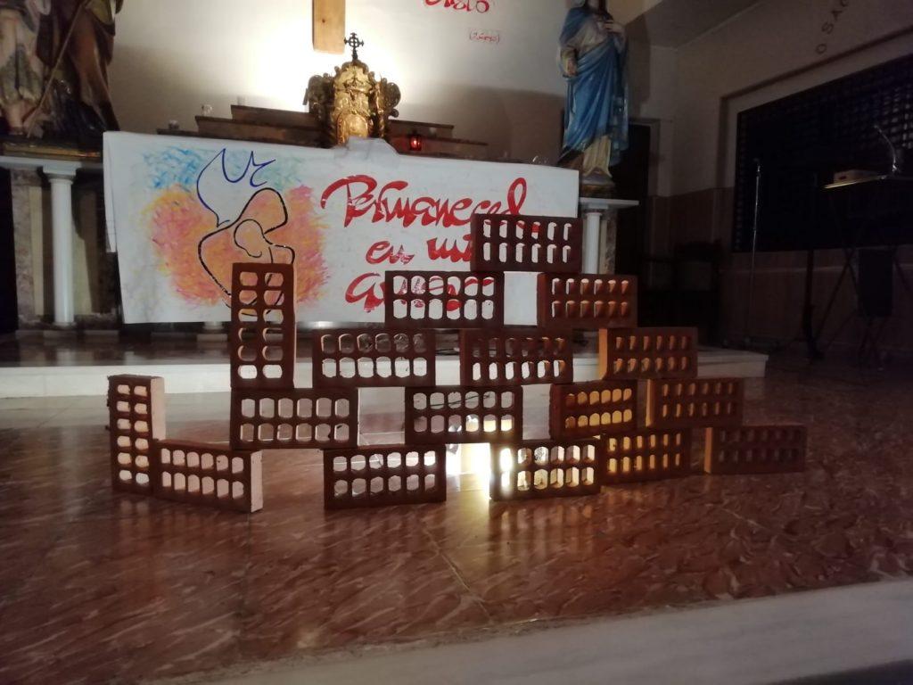 capilla para la oración de la noche