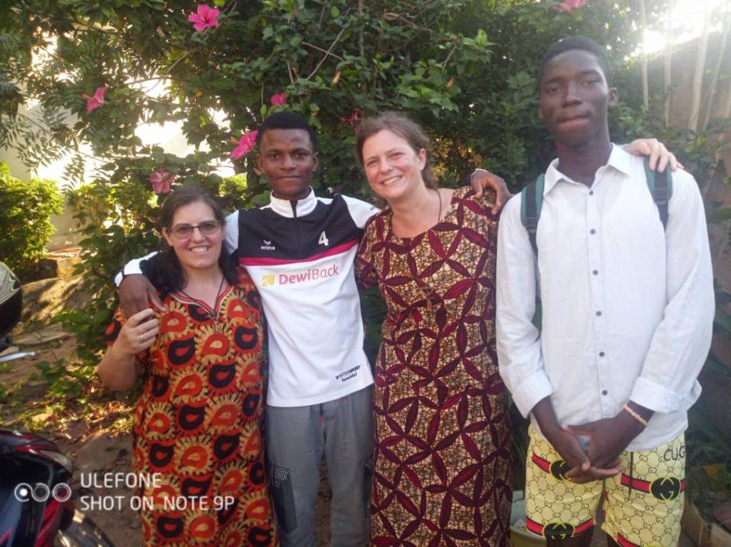 Campamento en Togo sobre el perdón